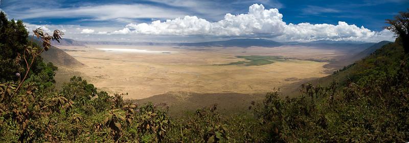 Panorama, Ngoro Ngoro Crater, Tanzania