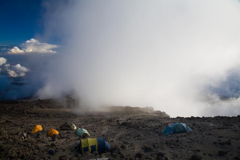 Barafo Camp, Mount Kilimanjaro, Tanzania
