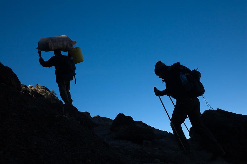 The Barranco Wall - Mount Kilimanjaro, Tanzania