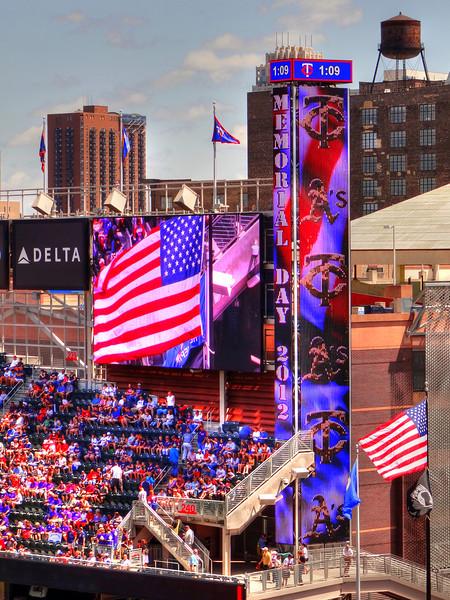 Memorial Day at Target Field