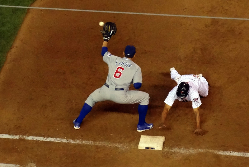 Ben Revere is safe at first
