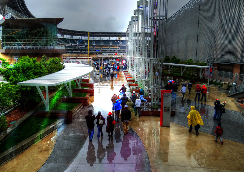 Rain out at Target Field