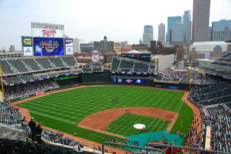 Twins Ballpark-Opening day