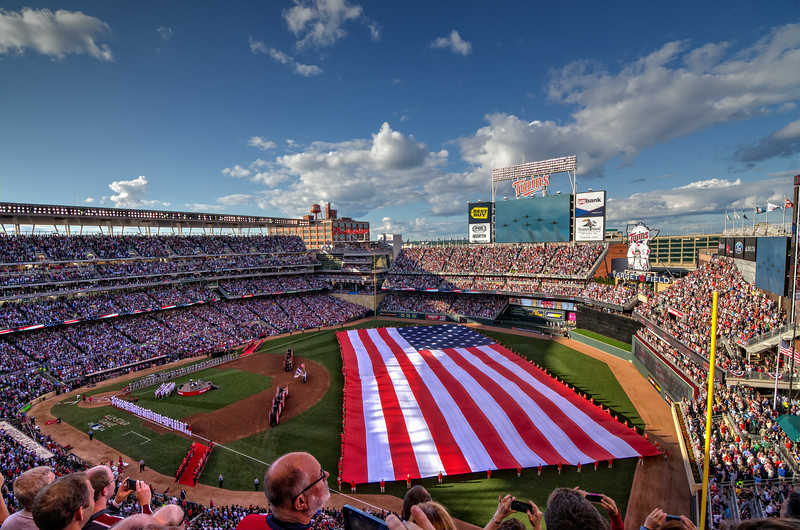 2014 All Star Game at Target Field