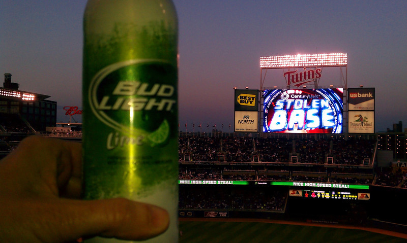 Will this $8.00 beer get us a win tonight?