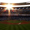 Sunset over Target Field