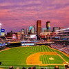 A Summer Sunset at Target Field