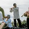 Joel Andrews, Chungliang Al Huang and Paul Winter making music