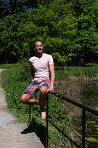 dans le parc du château - 5 mai 2018