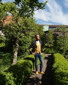 au jardin du monastère - 5 mai 2018