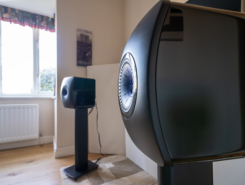 KEF LS 50 Wireless speakers