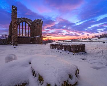 Egglestone Abbey, Sunrise IV