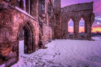 Egglestone Abbey, Sunrise V