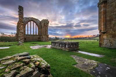 Egglestone Abbey Sunrise I