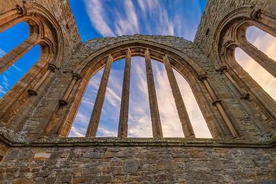 Egglestone Abbey, Arch Window