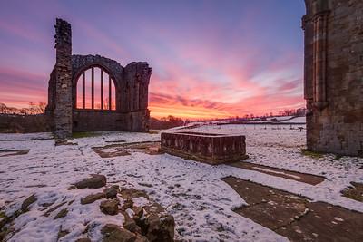 Egglestone Abbey, Sunrise II