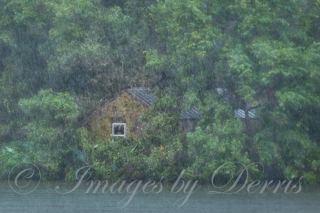Cabin on island in Lake LBJ