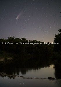 Comet Neowise over Paluxy River