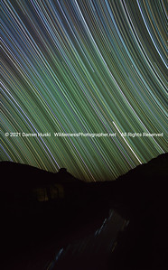 Star Trails Over Rio Grande