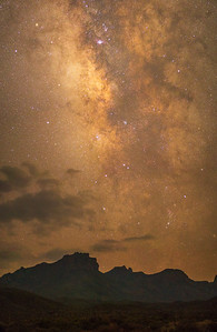 Milky Way over the Chisos