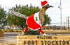 Texas - Paisano Pete Roadrunner in town of Fort Stockton - C8b-'08-1817 - 72 ppi
