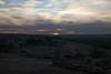 Sunset across the northwestern slope of Little Rock - Llano Uplift.