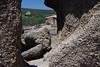 Intrusive igneous granite boulders along the southwestern slope of Little Rock.