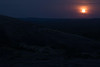 Blue Moon - from the eastern slope of Little Rock - over to the southern slope of Enchanted Rock - this is the 2nd Blue Moon within the same year (Ever So Rate, another 30 years before this occurs again).