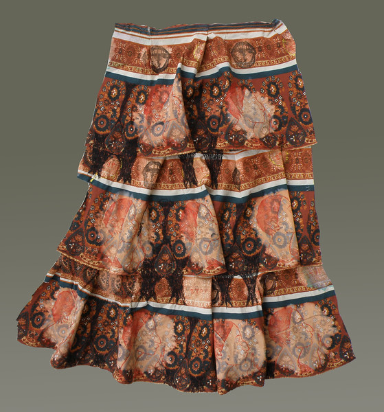 Xanthopoulou Ritual skirt for the worship of a cat Goddess