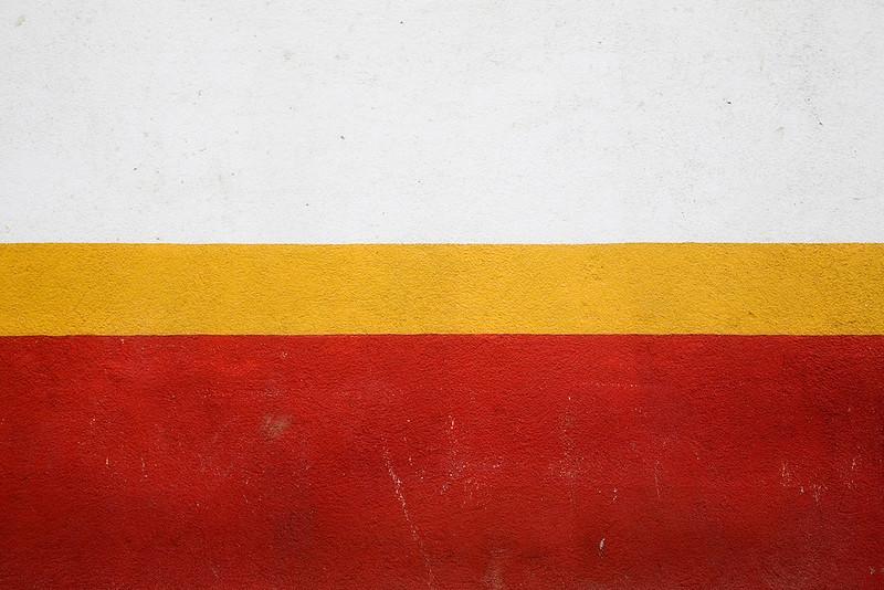 White, Yellow, Red