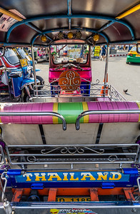 Tuk Tuk's are colorful and cool!