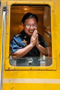 A Friendly Train Engineer.