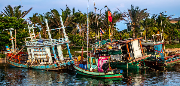 The Grand Fishing Fleet of Jomtein