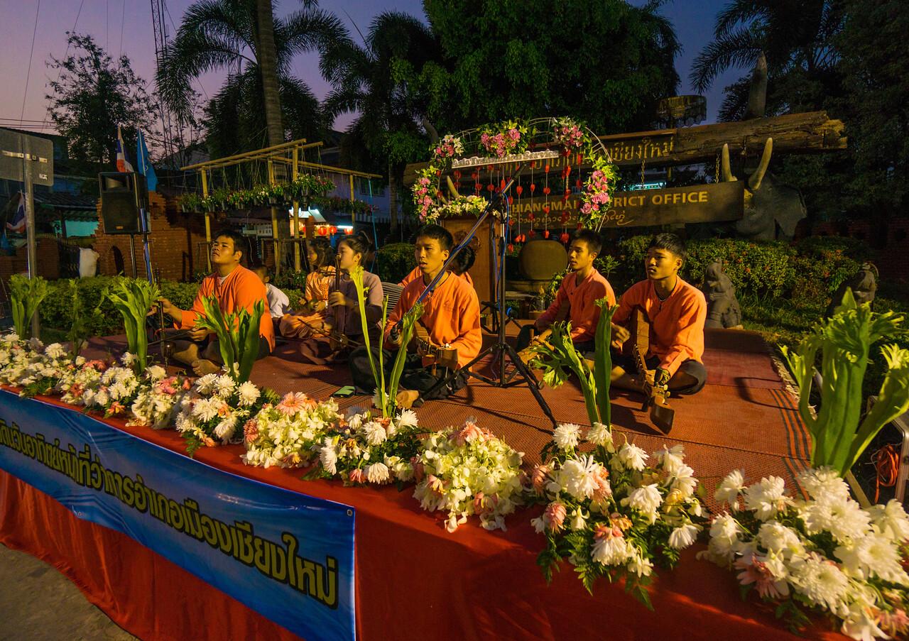 Street musicians, Chiang Mai