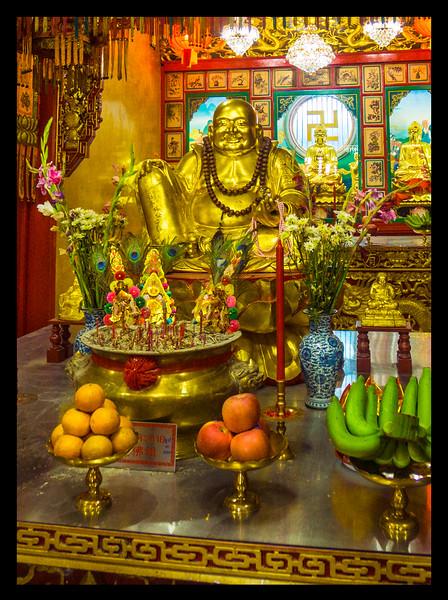 Chinese buddhist temple. Bangkok