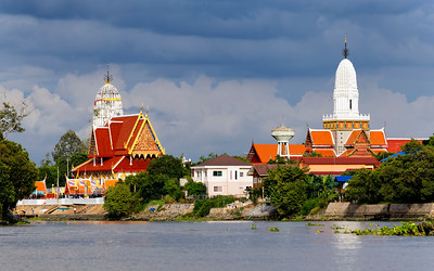 Ayuthaya Old Town from the River