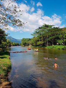 Rafting in Nakhon Nayok, Thailand (1)
