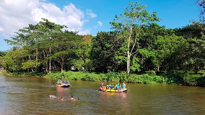 Rafting in Nakhon Nayok, Thailand (3)