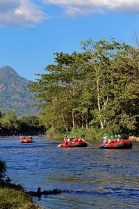 Rafting in Nakhon Nayok, Thailand (2)