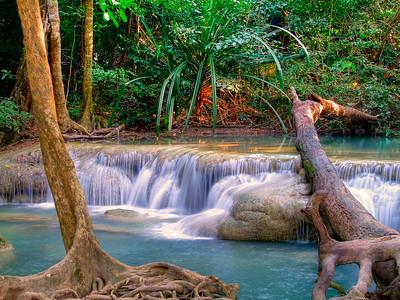 Erawan Falls (Level 1), Kanchanaburi,Thailand