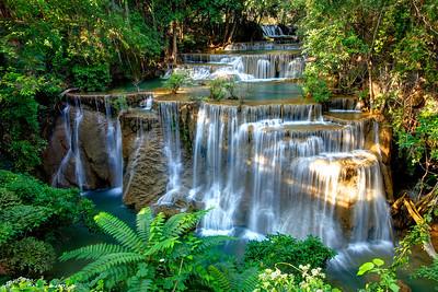 Huay Mae Khamin Waterfall, Kanchanaburi, Thailand (4)