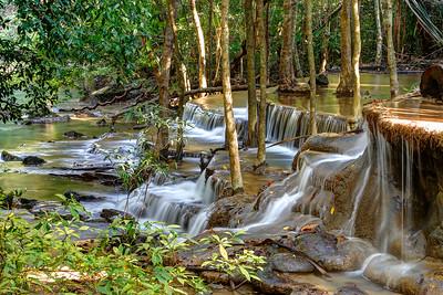 Huay Mae Khamin Waterfall, Kanchanaburi, Thailand (2)