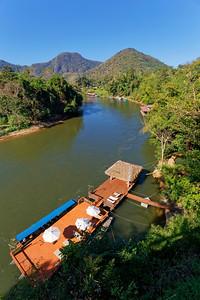 River Kwai (Khwae Noi), Sai Yok, Kanchanaburi Province, Thailand  (2)