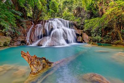 Huay Mae Khamin Waterfall, Kanchanaburi, Thailand (5)