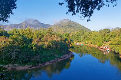 River Kwai (Khwae Noi), Sai Yok, Kanchanaburi Province, Thailand  (1)