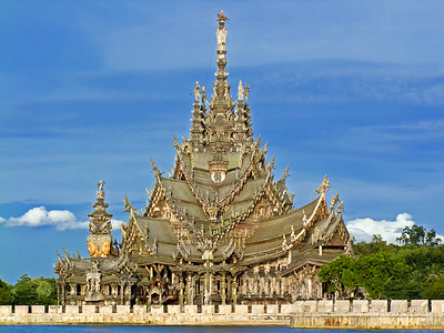 The Sanctuary of Truth, Pattaya, Thailand (2)
