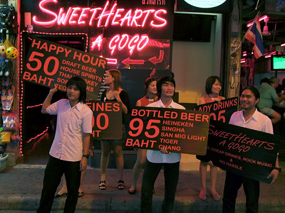 Sweathearts A Go Go, Walking Stree, Pattaya