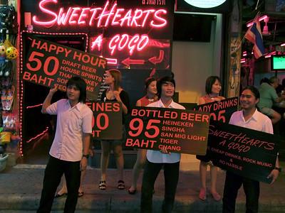 Sweathearts A Go Go, Walking Stree, Pattaya
