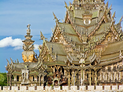 The Sanctuary of Truth, Pattaya, Thailand (3)