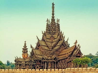 The Sanctuary of Truth, Pattaya, Thailand (1)